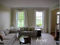 living room staging ideas how to make drapery panels puddle perfectly and these are just
