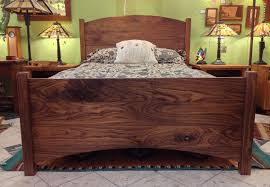 Solid Walnut Bedroom Furniture by Beds Boulder Furniture Arts