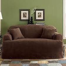 T Cushion Sofa Slipcover by Amazon Com Sure Fit Cotton Duck T Cushion Sofa Slipcover