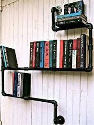 x pipes as bookshelves yes www retrash projects to