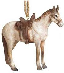 ornaments pole west cowboy