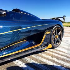 Official Koenigsegg Agera Rs U0027naraya U0027 Tinted Blue Carbon And