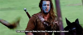 Braveheart Freedom Meme - braveheart freedom gif 14 gif images download