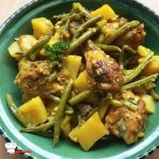 cuisiner des haricots verts frais tajine de poulet haricots verts recette cookeo mimi cuisine