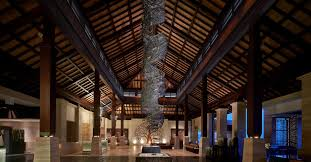 hotel architecture and design the ritz carlton bali watg