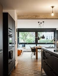 How To Paint Kitchen Cabinets Black Painting Kitchen Cabinets Black Black Countertops Kitchen Small