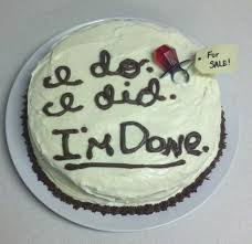 22 hilarious divorce cakes that are even better than wedding cakes