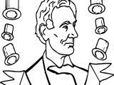 lincoln coloring pages abraham lincoln coloring pages wecoloringpage