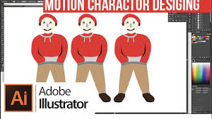 motion character designing in adobe illustrator beginners youtube