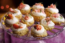 dining canapes recipes canapés tesco food