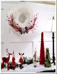 recaptured charm coffee filter christmas wreath