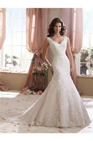 v neck low back lace wedding dress with buttons
