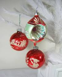 100 best vintage christmas ornaments images on pinterest vintage
