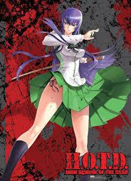collector u0027s universe and anime high of the dead saeko wall