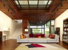 Wood Ceiling Designs Living Room Open Family Living Room With Wooden Ceiling Ideas Homescorner