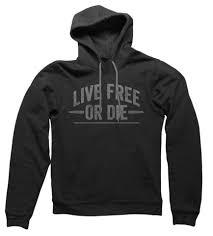 live free or die hoodie u2013 article 15 clothing