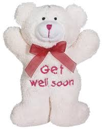 get well soon teddy get well soon teddy 12 inchflower with