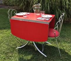 1950s chrome kitchen table and chairs chrome kitchen table choice image table decoration ideas