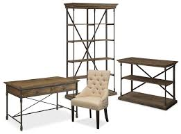the bedford home office collection pine value city furniture does