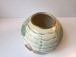 Spode Vases Art Deco Porcelain Ball Vase With Fish Motif U0027s From Spode U0027s Royal