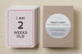 baby cards vintage baby milestone cards ultimate pack so fancy