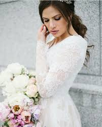 modest wedding dress alta moda bridal modest wedding dresses