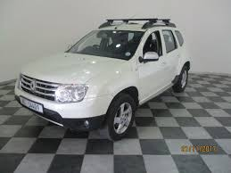 renault duster white used renault duster 1 5 dci dynamique 4x4 for sale