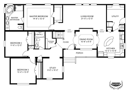 floor plans home 3 bedroom single wide mobile home floor plans 14 70 mobile home