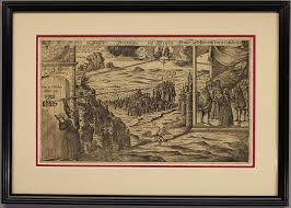thesis of martin luther rare woodcut engraving of elector frederick the wise of saxony s rare woodcut engraving of elector frederick the wise of saxony s dream in schweinitz on october 31 1517 published 1717