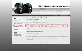 drupal themes jackson free drupal themes freethemes4all