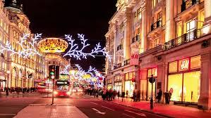 london christmas lights walking tour uk london oxford street christmas lights and shoppers time lapse