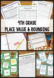 tips for teaching 4th grade place value and rounding place