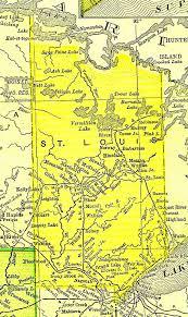 Map Mn Saint Louis County Minnesota Guide