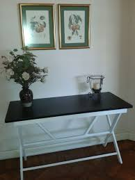 Entrance Hall Table by Apartment 14 Herschel Court Cape Town South Africa