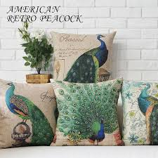 43cm 43cm Cotton Linen Decorative Pillow Covers Ikea Sofa Throw