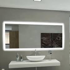 Illuminated Bathroom Mirrors With Shaver Socket Backlit Bathroom Mirrors Size Of Bathroom Accessories Mirror
