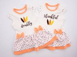 thanksgiving dresses for girls twin baby girls first thanksgiving twin doubly