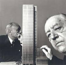 response about mies der rohe seagram building according to