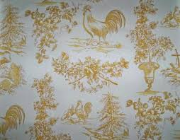 kravet pierre deux french country roosters alverra toile fabric 10