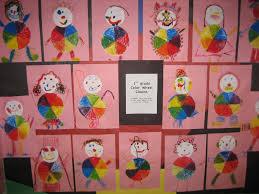 Pink Color Wheel by 1st Grade Color Wheel Clowns Art At Tatanka