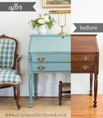 Antique Desk Secretary by Swedish