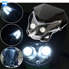 black motocross bike online get cheap dirt bike headlight black white aliexpress com