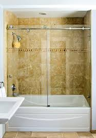 Sliding Bathtub Shower Doors The Tub Enclosure Dulles Glass Enclosures C C E P