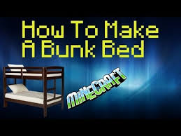 Minecraft How To Make A Bunk Bed Bunk Bed Minecraft Pe Images