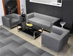 canapé de bureau bonne conception moderne en cuir bureau canapé 809 7 places canapé