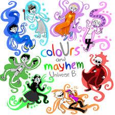 colours and mayhem universe b homestuck by homestuck