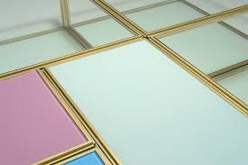 low coffee table blts pt6x3 pt7x1 pt8x2 brass frame glass top