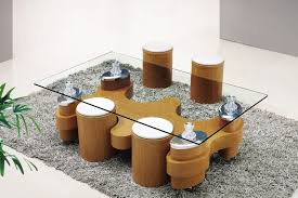 coffee table appealing wood glass coffee table glass oval coffee