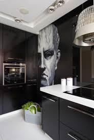 cuisine moderne noir et blanc déco maison en pour un appartement moderne vivons maison
