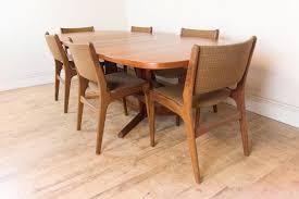 Teak Dining Room Chairs Vintage Teak Dining Table New Home Design Modern